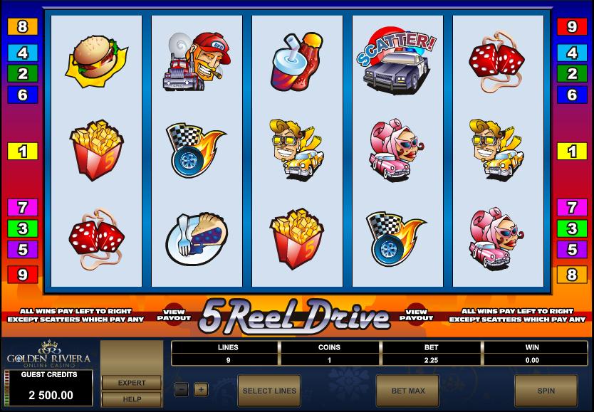 Golden Riviera Casino Screenshot 3