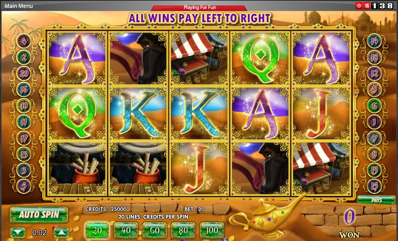 138 Casino Screenshot 1
