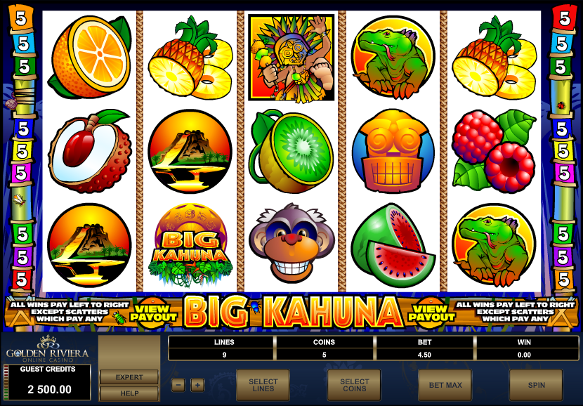 Golden Riviera Casino Screenshot 1