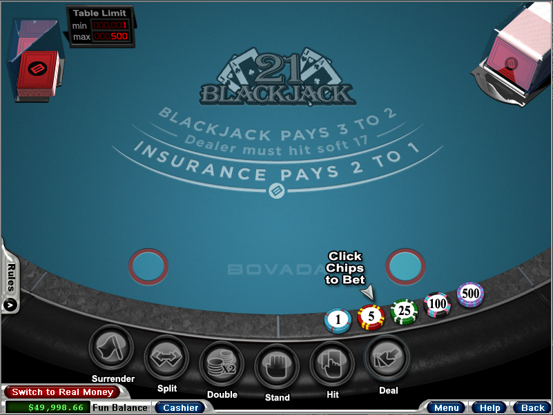Bovada Casino Screenshot 4