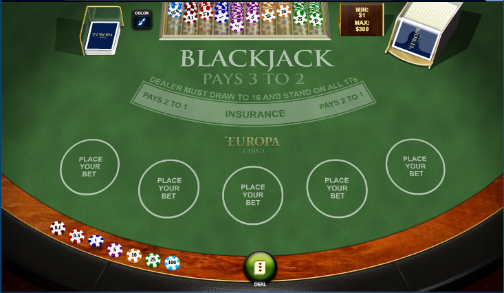Europa Casino Screenshot 5