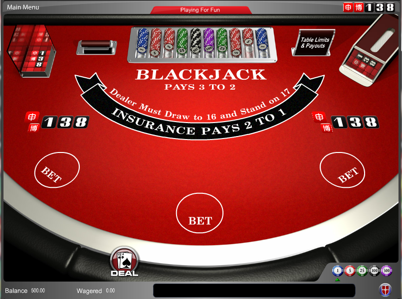 138 Casino Screenshot 4