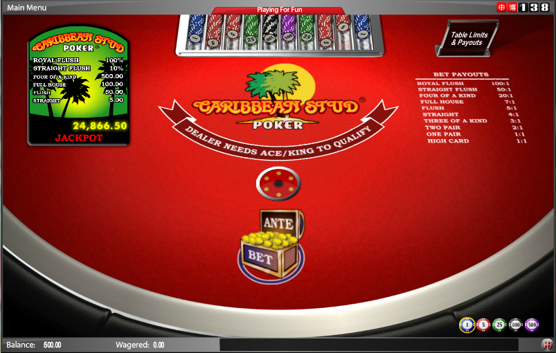 138 Casino Screenshot 7