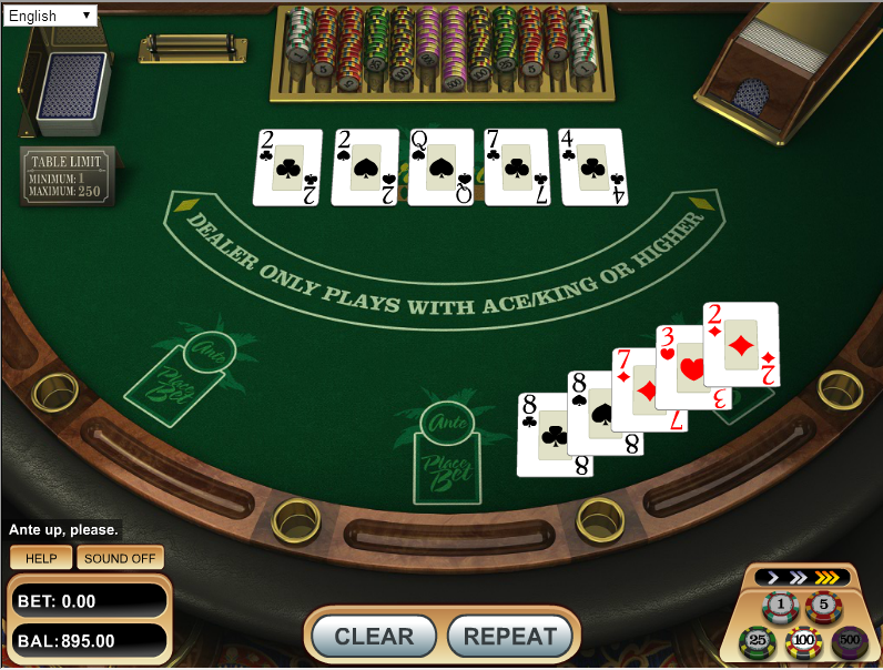 casino cash games online