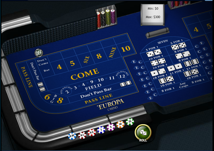 Europa Casino Screenshot 6
