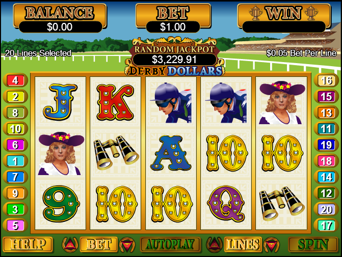Club World Casino Screenshot 1