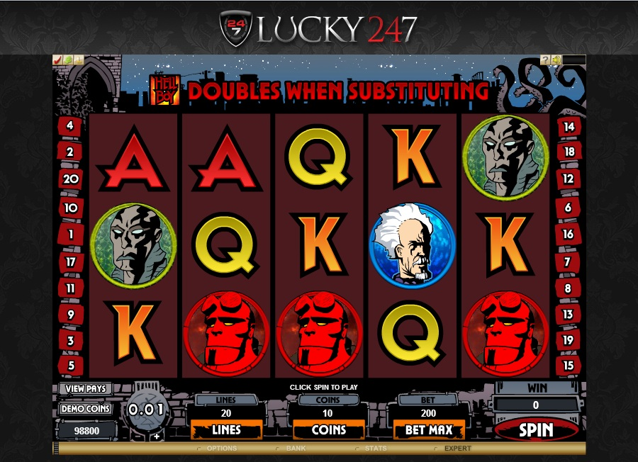 Lucky247 Casino Screenshot 2