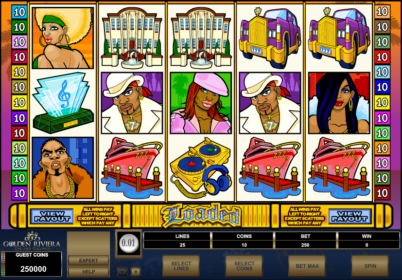 Golden Riviera Casino Screenshot 2