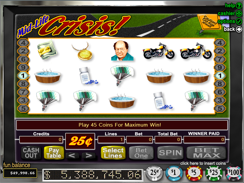 Bovada Casino Screenshot 3