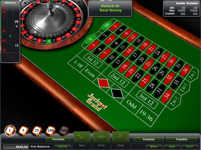 online casino roulette strategy jackpot online