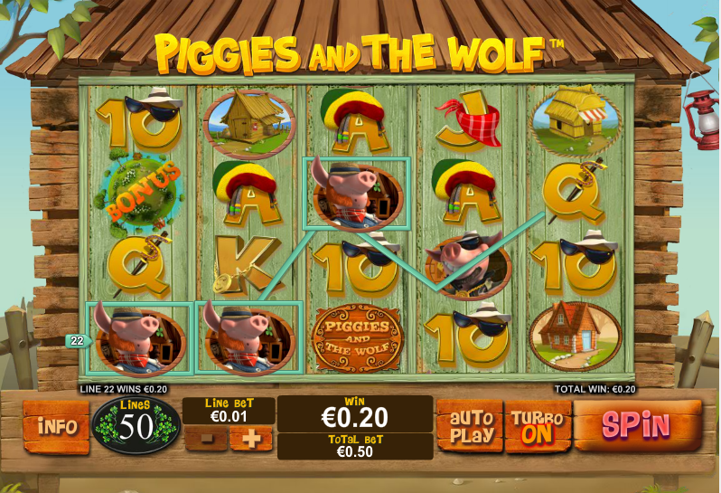 Piggies and the Wolf Slots - Free Play of Piggies & The Wolf Slot Game