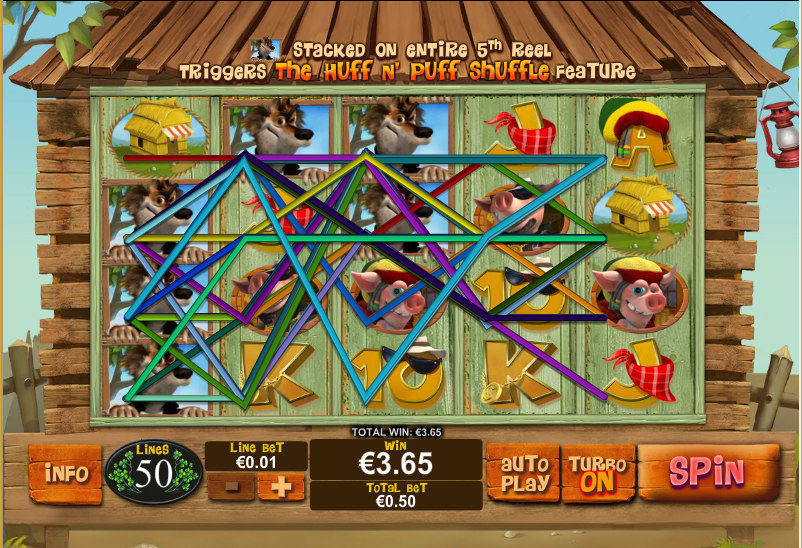 Play Piggies and the Wolf Pokie at Casino.com Australia