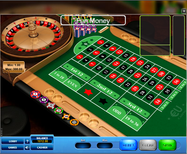 EUcasino Screenshot 6
