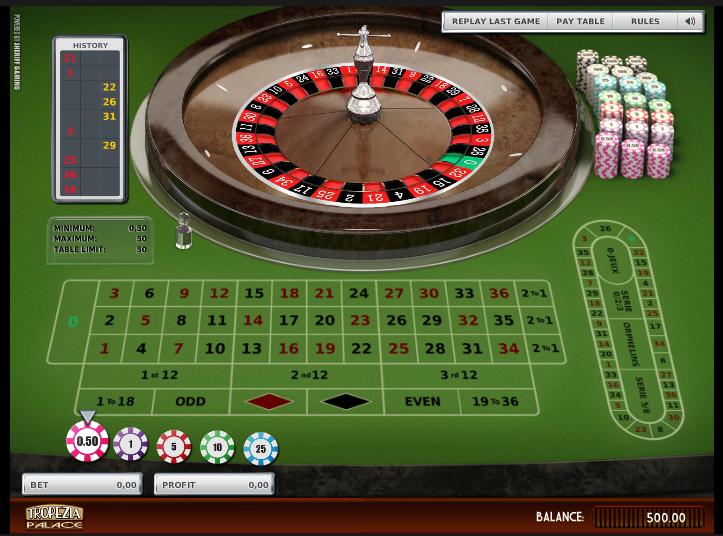 Tropezia Palace Casino Screenshot 6