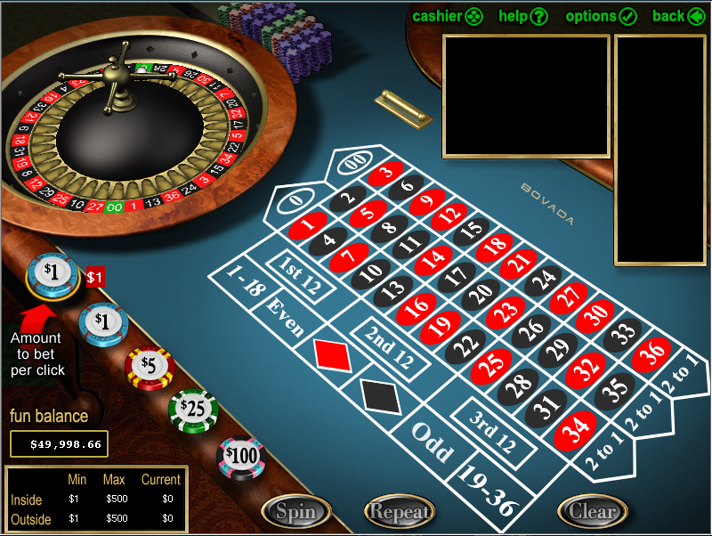 Bovada Casino Screenshot 5
