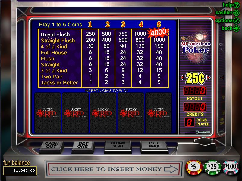 casino slots free play online american pocker