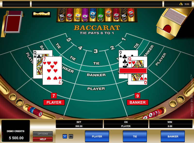 Play Live Mini Baccarat Online at Casino.com India