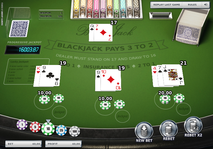 Lucky Lucky Blackjack – Online Blackjack Reviews