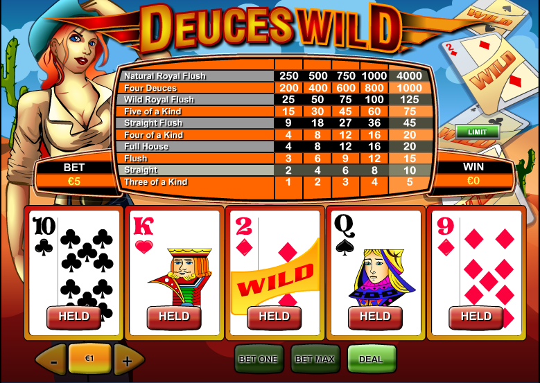 Spiele Deuces Wild (Single Hand) - Video Slots Online