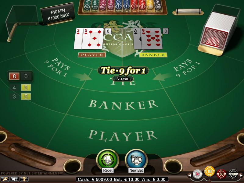 Multi Deck Baccarat Screenshot 4