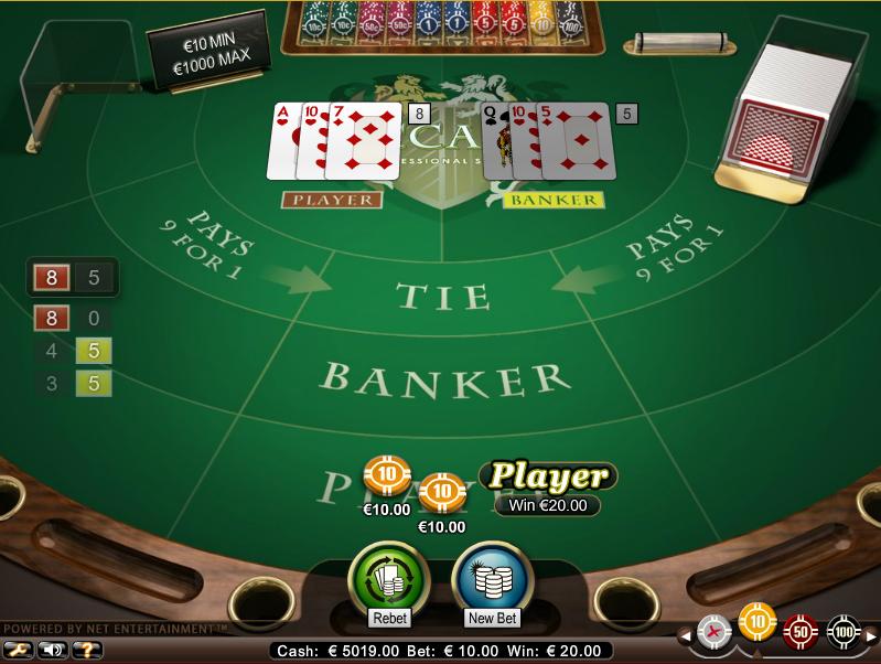 Multi Deck Baccarat Screenshot 5
