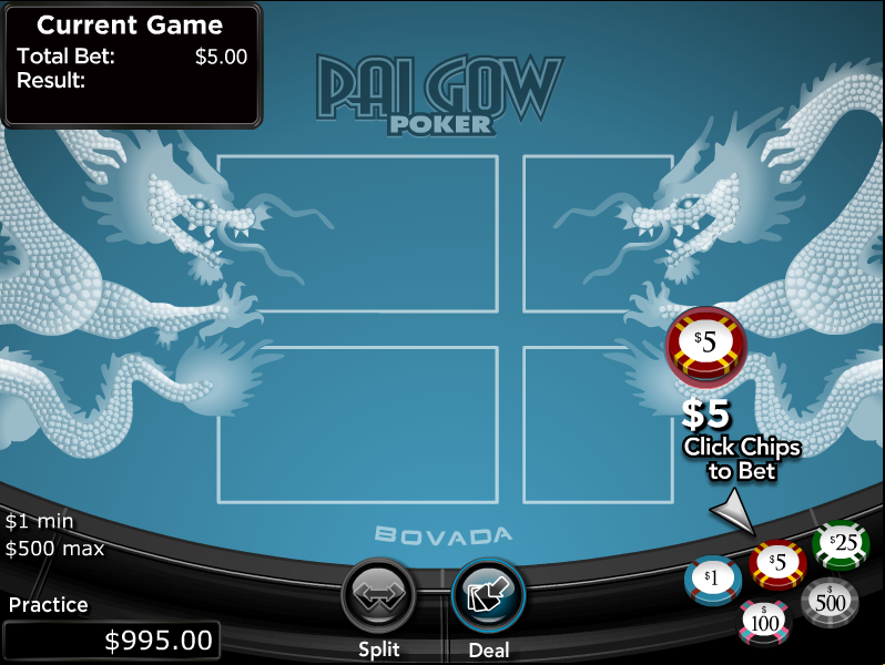 Play Pai Gow Poker Online at Casino.com Australia
