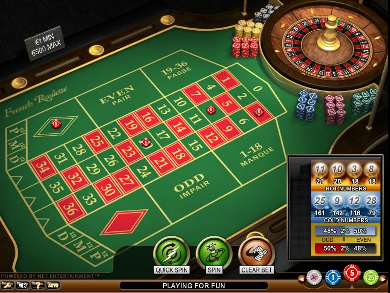 casino online roulette francese
