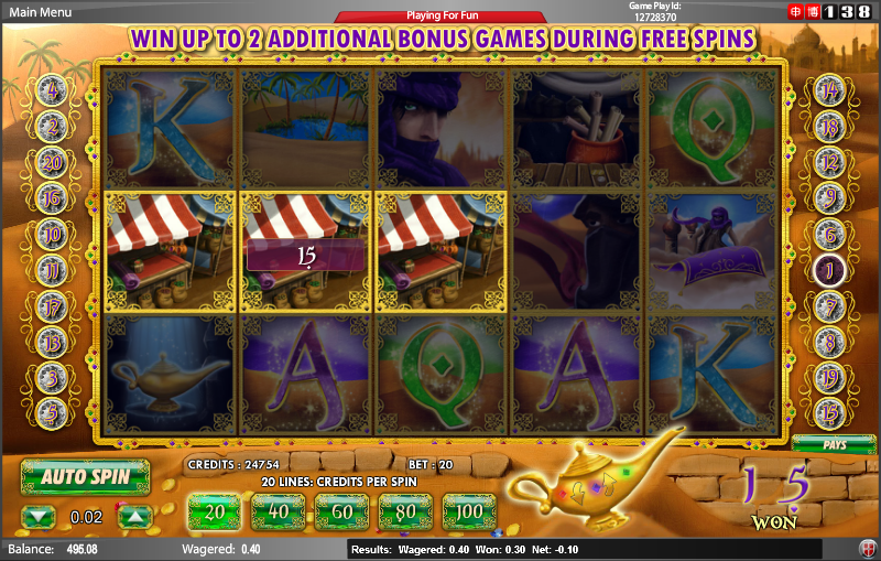 Aladdin Slot - Read the Review and Play for Free