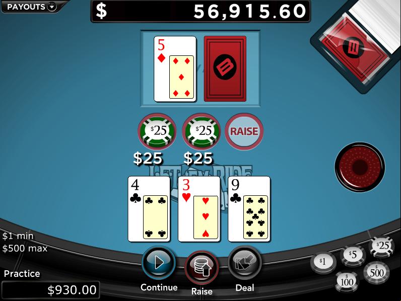 Let It Ride Poker Free Online