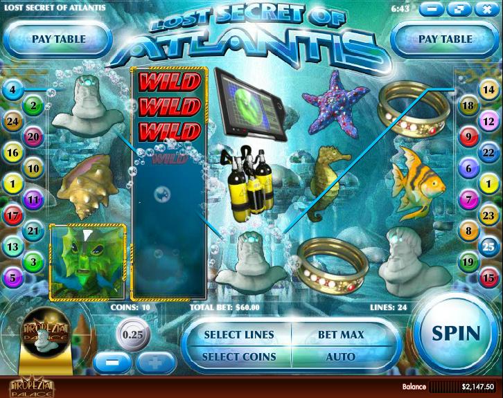 Lost Secret of Atlantis Slot Machine Online ᐈ Rival™ Casino Slots