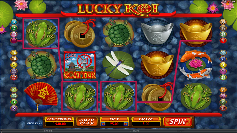 Lucky koi slot review