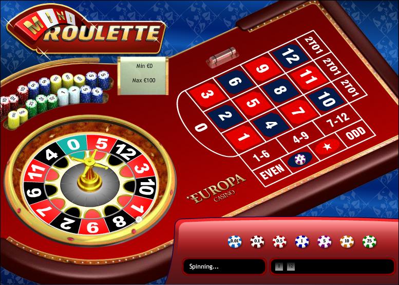 Play Mini Roulette Arcade Game at Casino.com UK