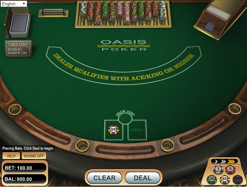 CloudBet Casino Screenshot 4