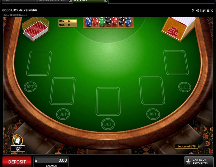 888 Casino Screenshot 4