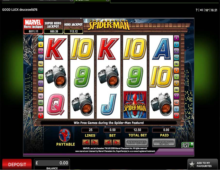 888 Casino Screenshot 2