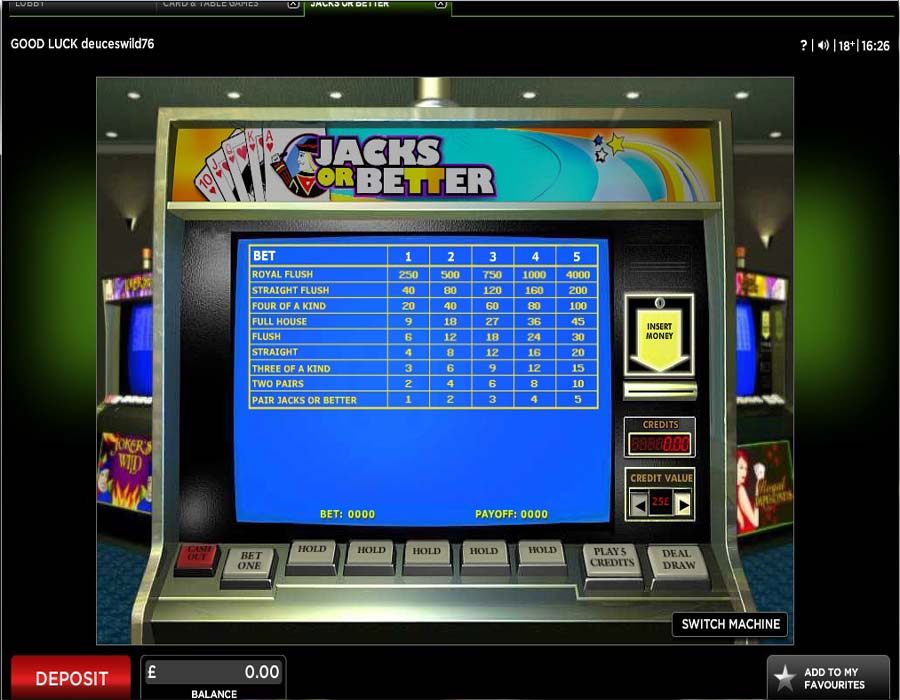 888 Casino Screenshot 7