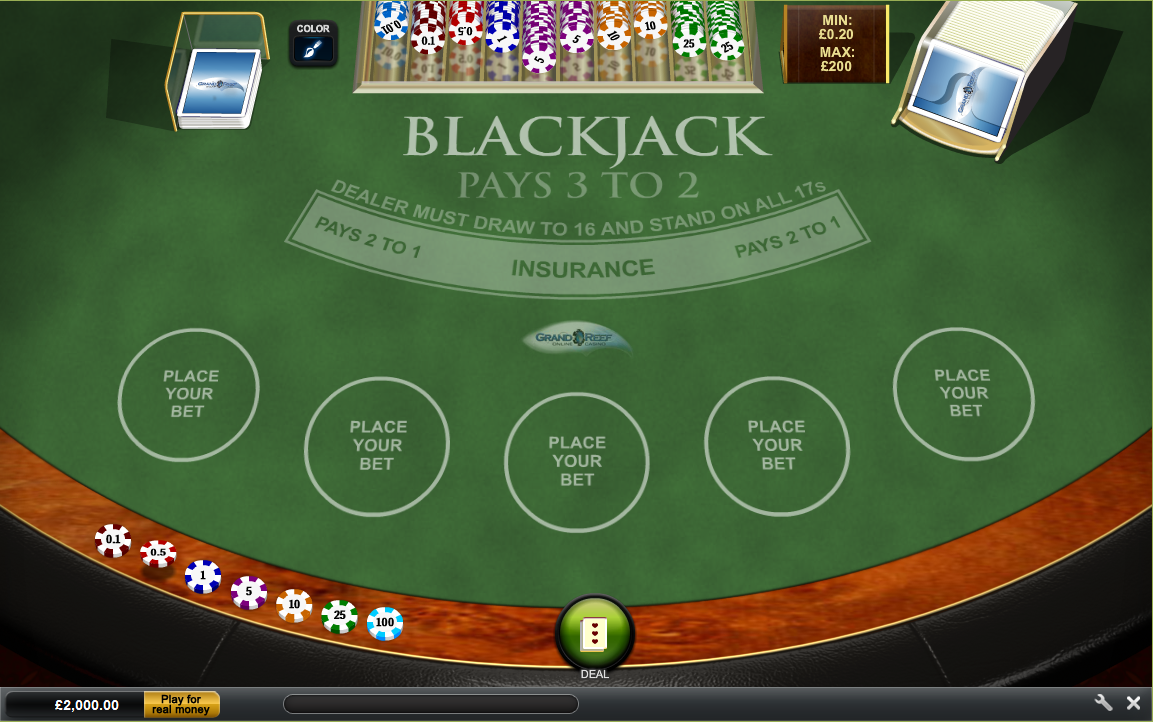 Grand Reef Casino Screenshot 4