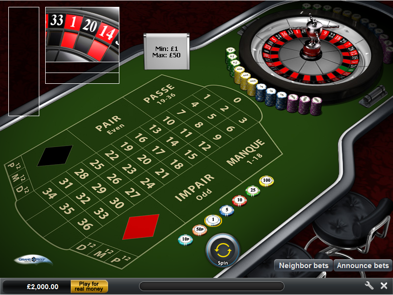 Grand Reef Casino Screenshot 5