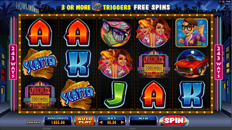 Night Wolves - 5 Walzen Slots legal im Online Casino spielen OnlineCasino Deutschland