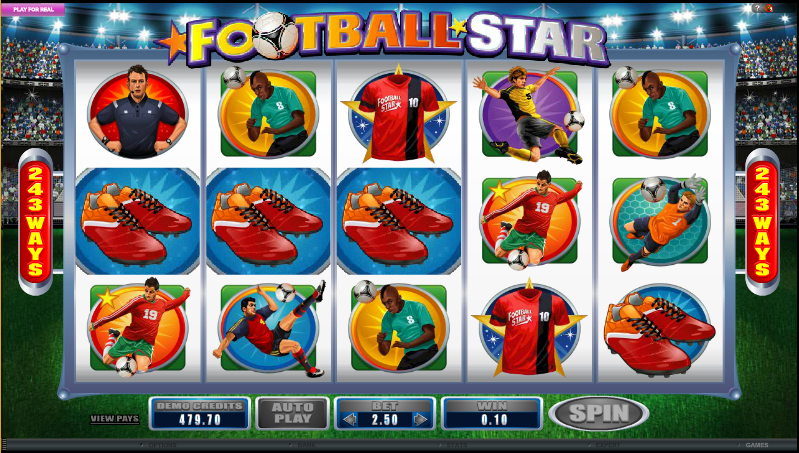 Football Fans Slots - Review and Play Free Online Game