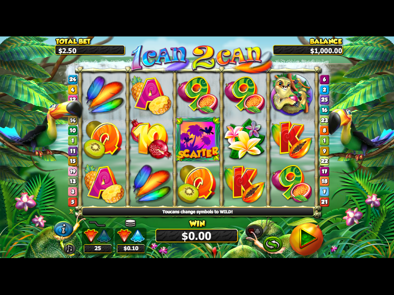 2Can Slot Machine Review - Play 2Can slots for Free Online