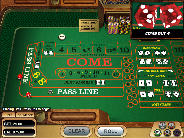 CloudBet Casino Screenshot 6