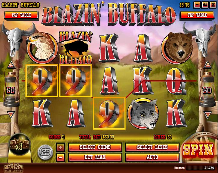 Blazin' Buffalo Screenshot 4