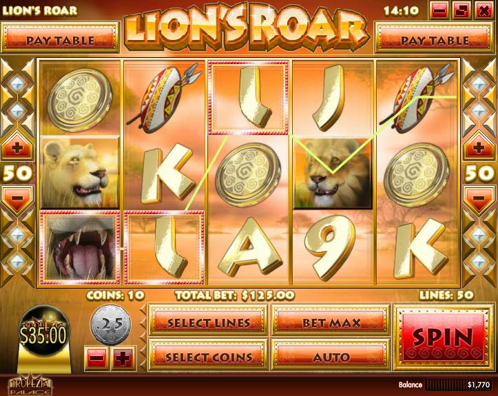 Lion's Roar  Screenshot 3