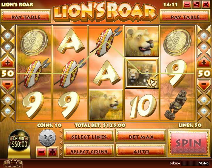 Lion's Roar  Screenshot 4