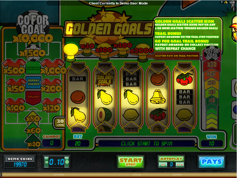 Goal!!! Slot Machine - Play the Online Version for Free