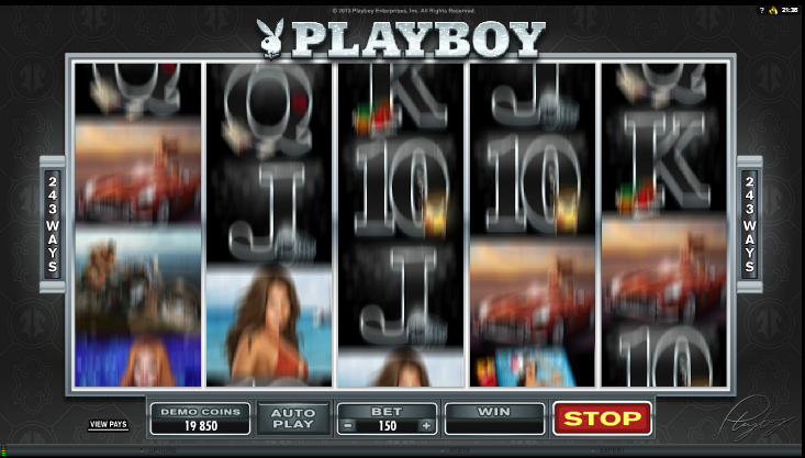 Playboy Slots - Free Online Casino Game by Microgaming