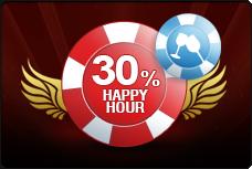 7Red Happy Hour Weekly Casino Bonus