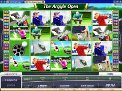 The Argyle Open Slot