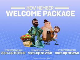 Spin and Win Triple Casino Welcome Bonus